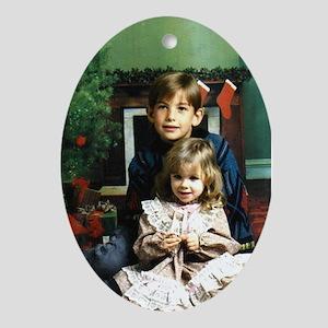 Kids Oval Ornament