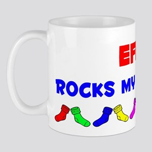 Effie Rocks Socks (A) Mug