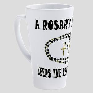 ROSARY 17 oz Latte Mug
