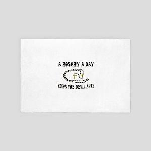 Rosary 4' X 6' Rug