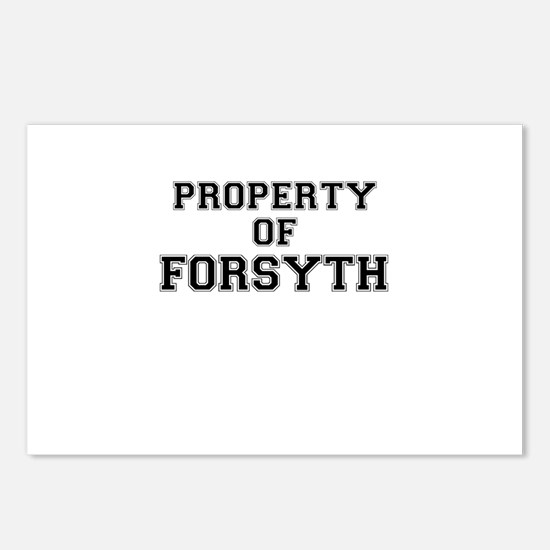 Property of FORSYTH Postcards (Package of 8)
