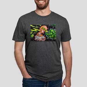 Evil Space Man Graffiti T-Shirt