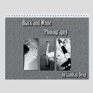 Black and White Wall Calendar