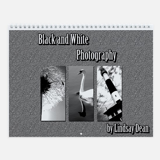 Black and White Wall Calendar