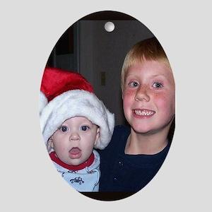 Boys Oval Ornament