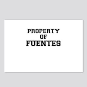 Property of FUENTES Postcards (Package of 8)