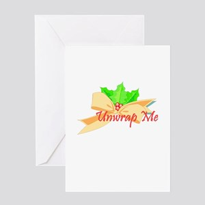 Unwrap Me Greeting Card
