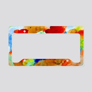 Abstract 15 License Plate Holder