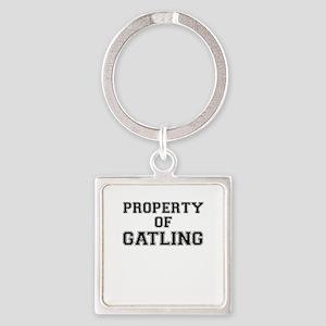 Property of GATLING Keychains