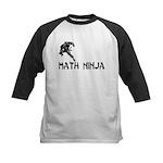 Math Ninja Kids Baseball Jersey