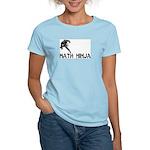 Math Ninja Women's Light T-Shirt