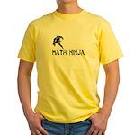 Math Ninja Yellow T-Shirt