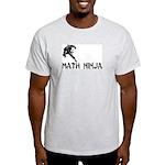 Math Ninja Light T-Shirt