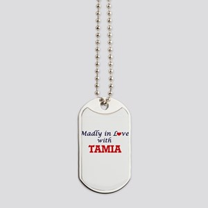 Madly in Love with Tamia Dog Tags