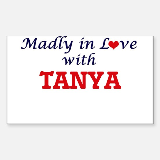 Madly in Love with Tanya Decal