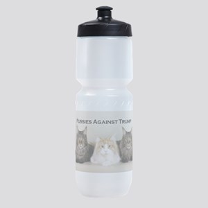 Pussies Against Trump Sports Bottle