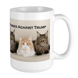 Anti trump Large Mugs (15 oz)