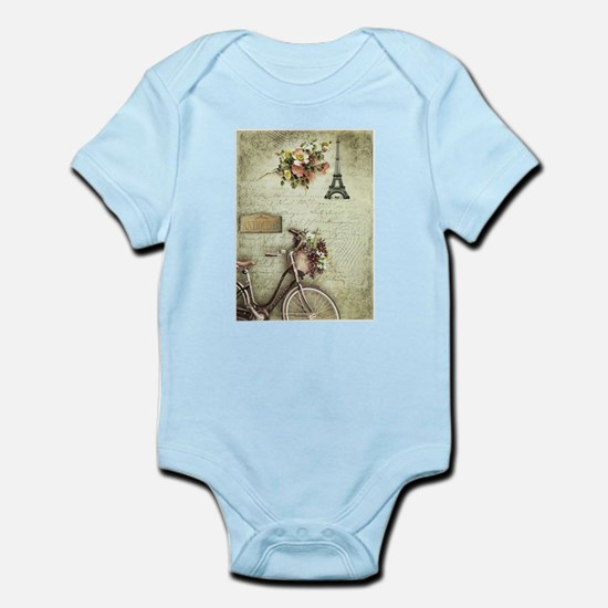 Bicyclette a Paris Infant Bodysuit