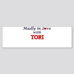 Madly in Love with Tori Bumper Sticker