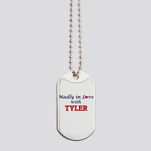 Madly in Love with Tyler Dog Tags