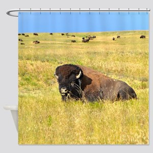 Buffalo Home On The Range Shower Curtain