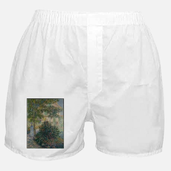 Camille Monet in the Garden at Argent Boxer Shorts