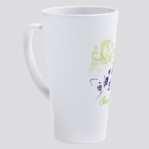 paws for healing 17 oz Latte Mug