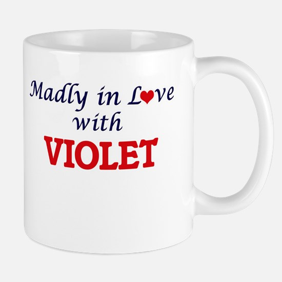 Madly in Love with Violet Mugs