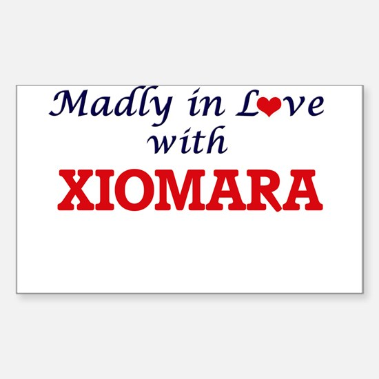 Madly in Love with Xiomara Decal