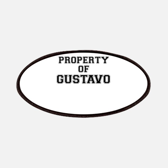 Property of GUSTAVO Patch