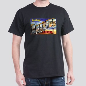 Seaside Oregon Greetings Ash Grey T-Shirt