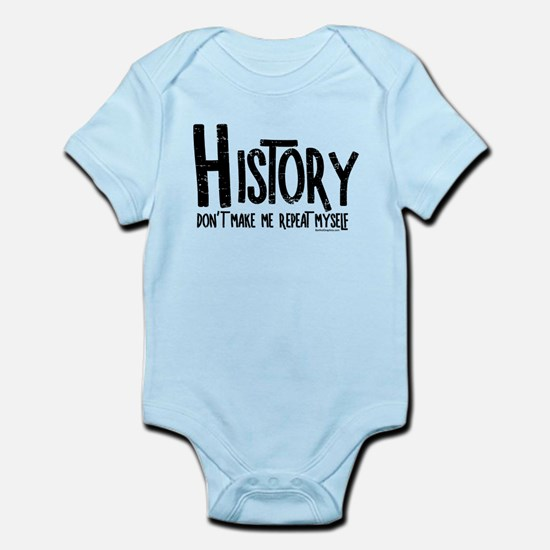 Repeat History Rough Text Body Suit