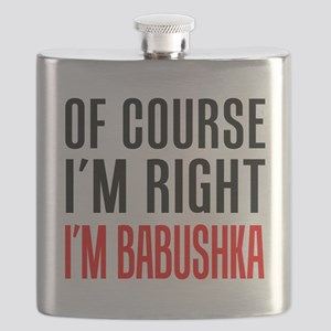 I'm Right Babushka Drinkware Flask