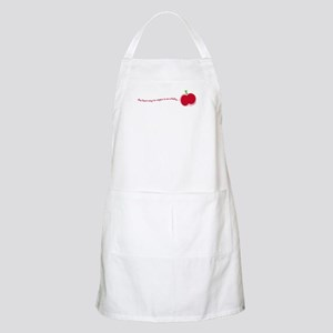 vegan baby BBQ Apron mommy cook for your baby!!