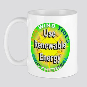 Use Renewable Energy Mug
