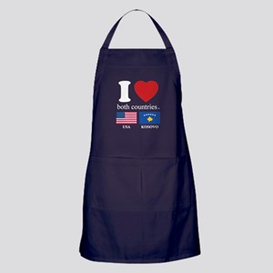 USA-KOSOVO Apron (dark)