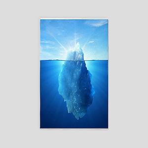 Iceberg Nature Photography Area Rug