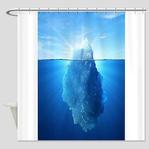 Iceberg Nature Photography Shower Curtain