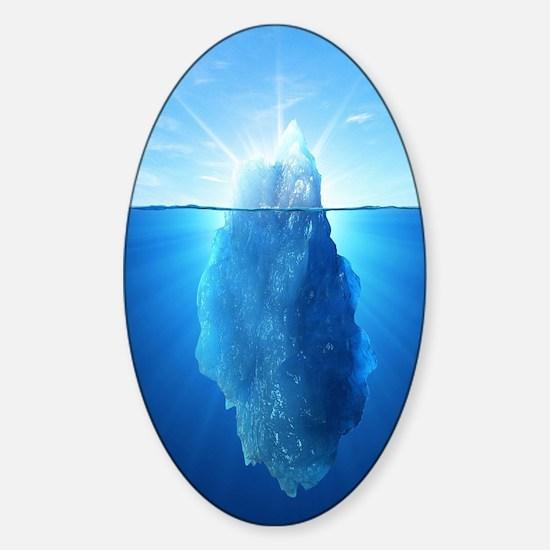 Iceberg Nature Photography Decal