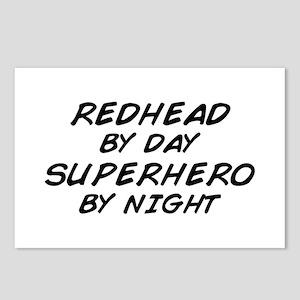 Redhead Superhero Postcards (Package of 8)