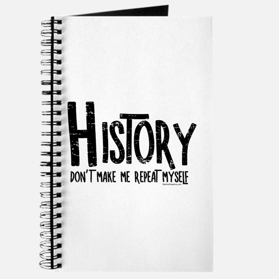 Repeat History Rough Text Journal