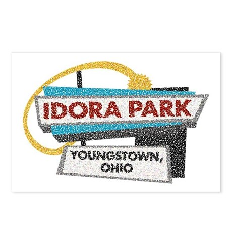 Idora Park Sign Postcards (Package of 8)