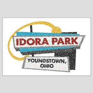 Idora Park Sign Large Poster