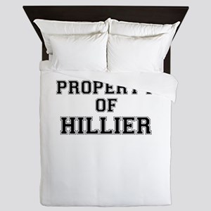 Property of HILLIER Queen Duvet