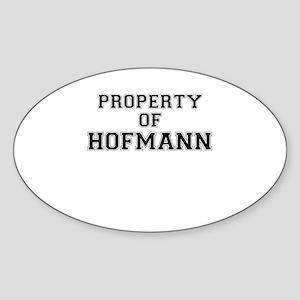 Property of HOFMANN Sticker