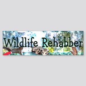 Wildlife Rehab Bumper Sticker