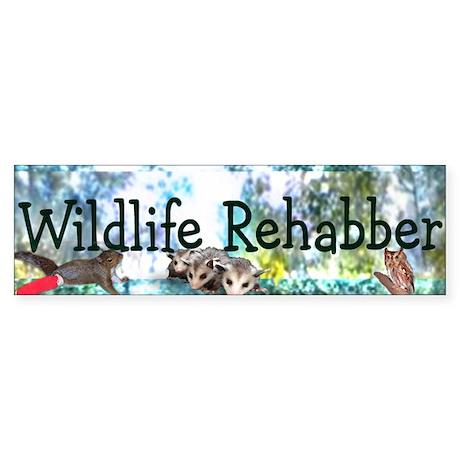 Wildlife Rehab Bumper Sticker