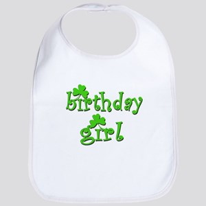 Irish Birthday Girl Bib