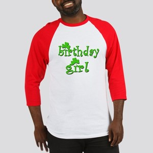 Irish Birthday Girl Baseball Jersey