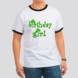 Irish Birthday Girl Ringer T